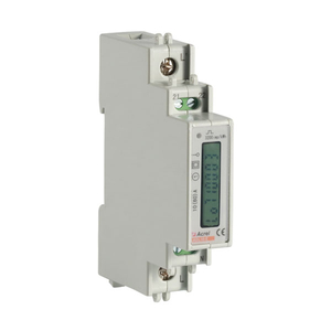 Din rail single phase energy meter with RS485 ADL10-E